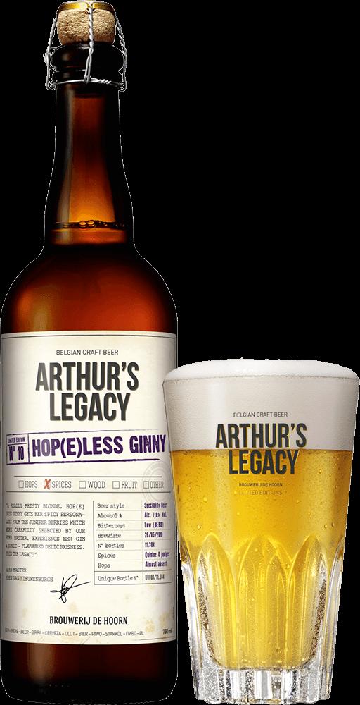 Arthur's legacy Hop(e)less Ginny