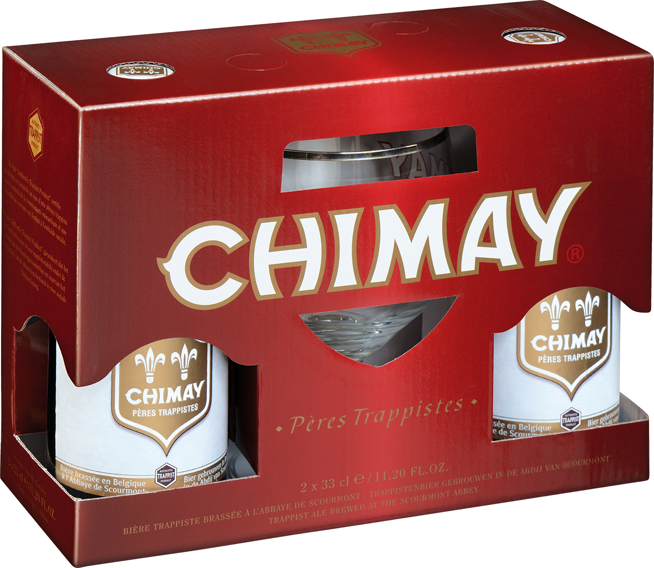 Chimay White Triple Ajándékcsomag