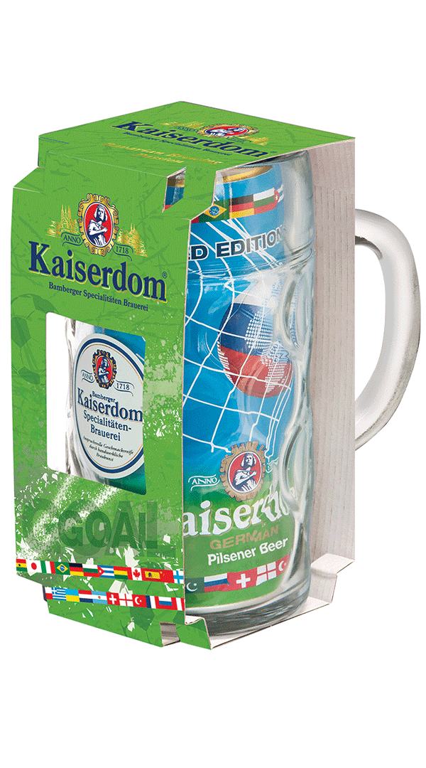 Kaiserdom World Edition 2018 ajándék korsóval