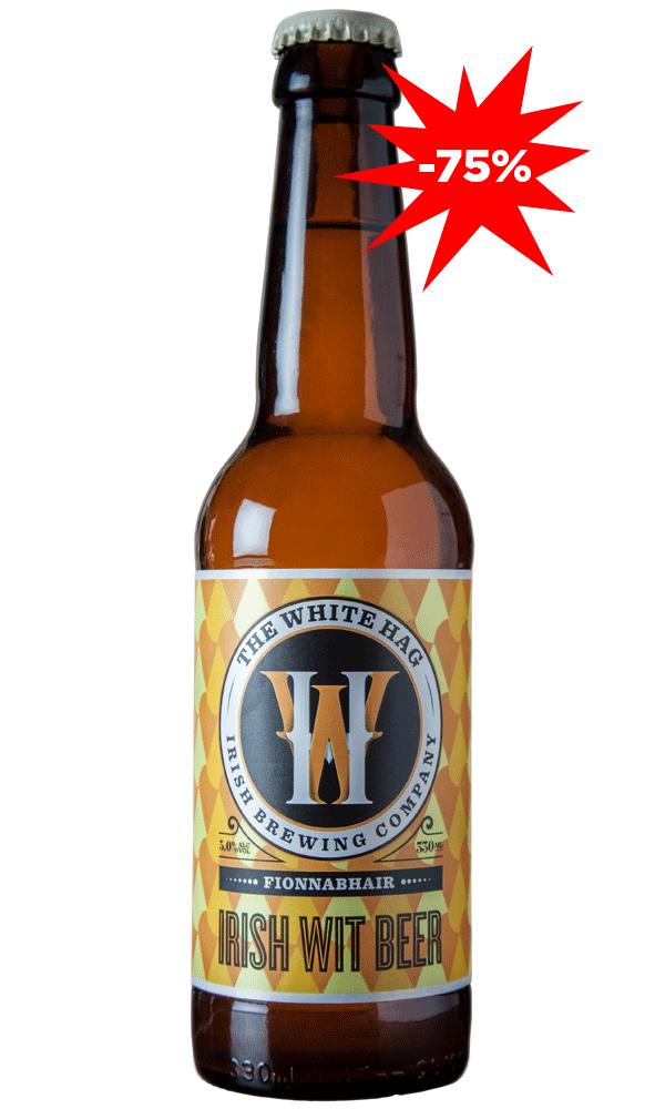 The White HAG Irish Wit Beer/üveges