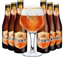 Bush csomag ajándék söröspohárral I.