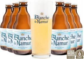 Blanche de Namur csomag ajándék söröspohárral