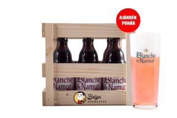 Blanche de Namur Ajándékdoboz+ Pohár