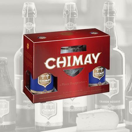 Chimay Bleue Ajándékcsomag