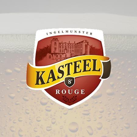 Kasteel Rouge Ajándékdoboz+ Pohár