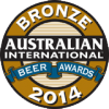 2014 Bronze Medal: Australian International Beer Awards Lambic Beers