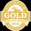 2012 Stockholm Beer & Whisky Festival, Gold Medal (Belgian Ale 4.8% - 5.9%)
