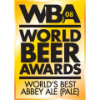 2008 Gold Award: World Beer Awards Pale Beer World's Best Abbey Ale