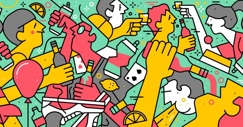 Élmény a köbön, játékok a belga sörrel