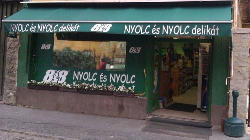 NYOLC ÉS NYOLC DELIKÁT