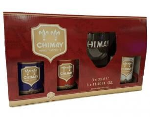 Chimay 3*0,33 + pohár