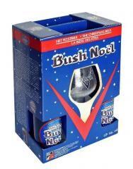 Bush Noel ajándékcsomag 4*0,33 + pohár