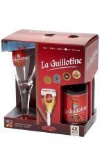 La Guillotine 4x0,33l+ pohár